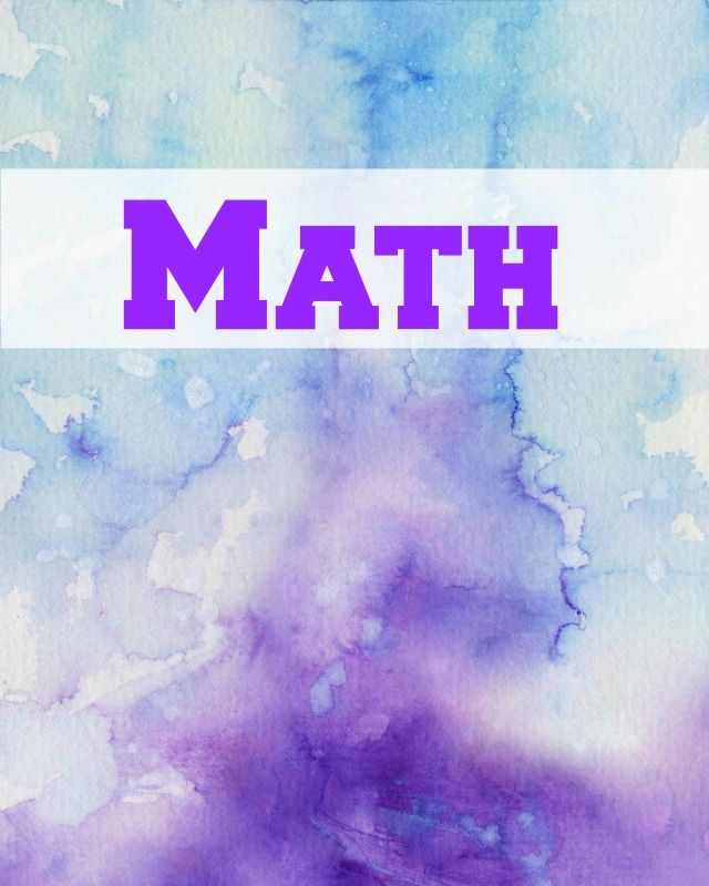Math Book Cover Pictures : Best binder covers images on pinterest monogram