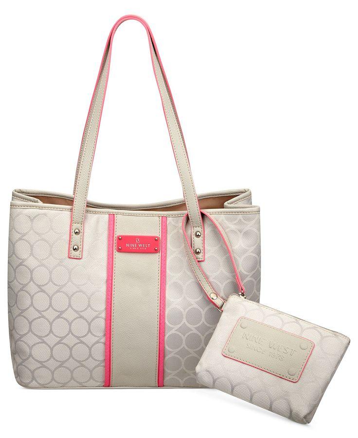 Nine West Handbag, On Cloud 9 Medium Shopper - Tote Bags - Handbags & Accessories - Macy's