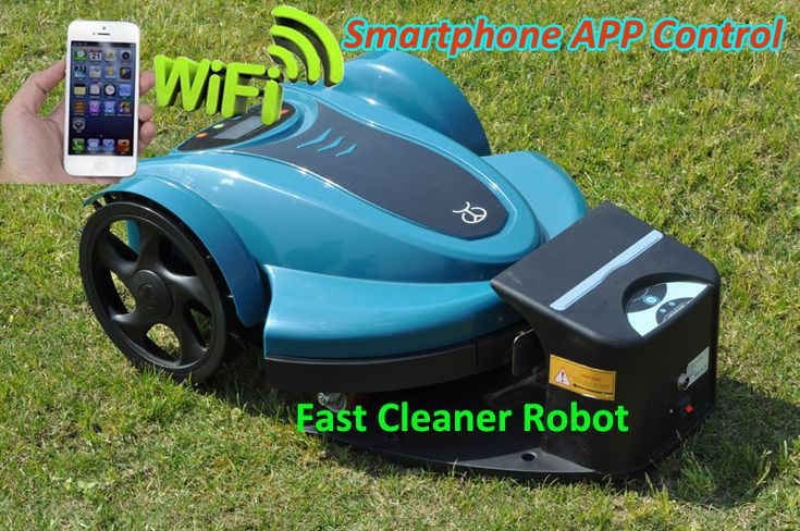 The New Genie 250 Automatic lawn mower.