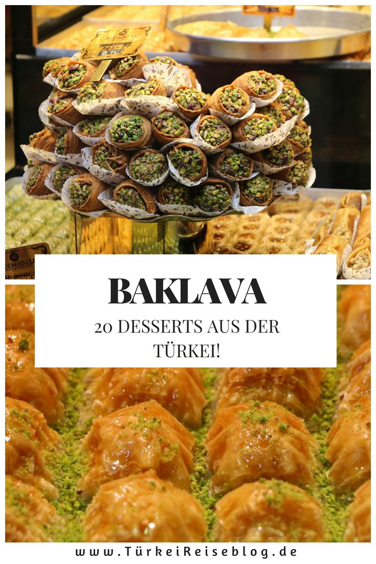 20 türkische Desserts, die Du garantiert einmal probieren willst!