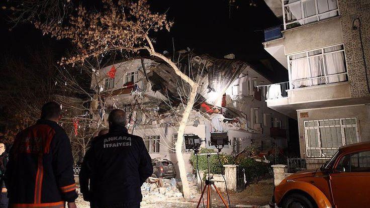 Ankara'nın Çankaya ilçesinde Küçükesat Mahallesi Başçavuş Sokak'ta bir apartmanda, doğalgaz sıkışması ya da tüpten kaynaklandığı değerlendirilen patlama meydana geldi.