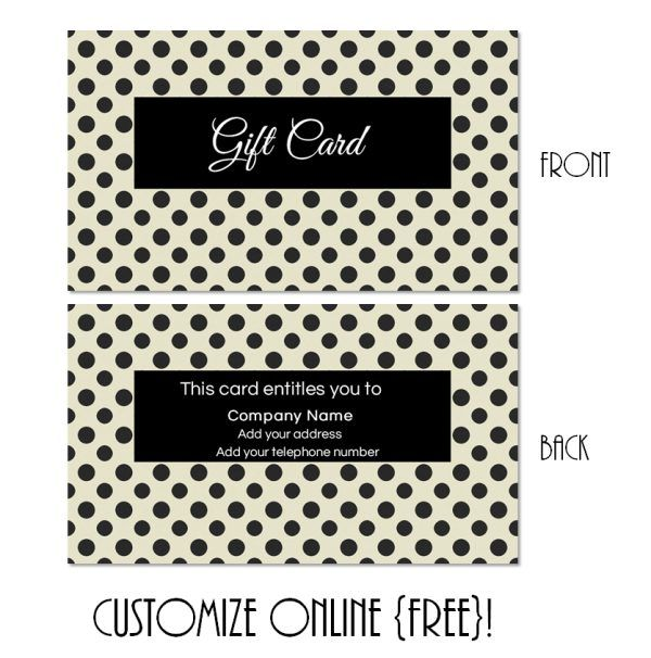 19 best Gift Cards images on Pinterest Printable gift cards - gift certificate voucher template