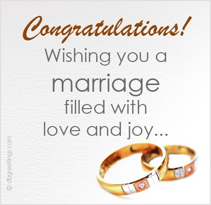 Wedding Congratulations Best Wishes | wedding wishes ...