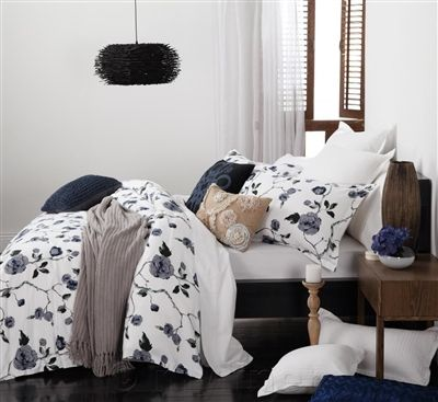 Logan & Mason - Nicola White Quilt Cover Set