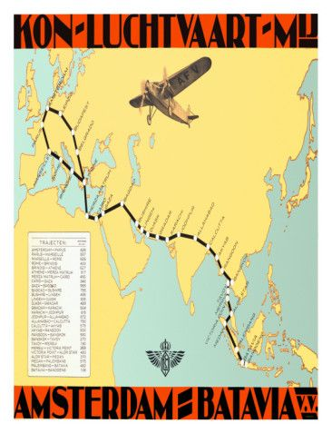 KLM ROYAL DUTCH AIRLINES POSTER Posters at AllPosters.com