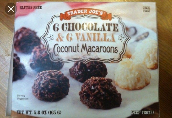 Pin By Brenda Quarles On Tj S Coconut Macaroons Vanilla Coconut Trader Joes