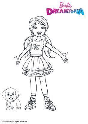 Chelsea Et Honey Coloriage Barbie Pyjamasque Coloriage Dessin Barbie