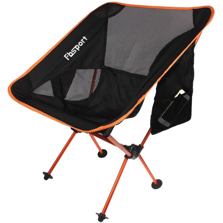 Lightweight Folding Camping Beach Chair, Compact Heavy Duty Supports 330 lbs Portable Chairs