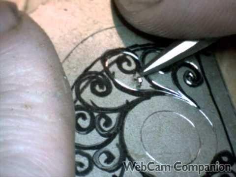 Gun Engraving Practice Hand Engraving By Shaun Hughes
