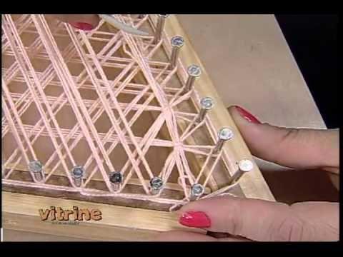 Lenço Triangular com Márcia Ester - Vitrine do Artesanato na TV - YouTube