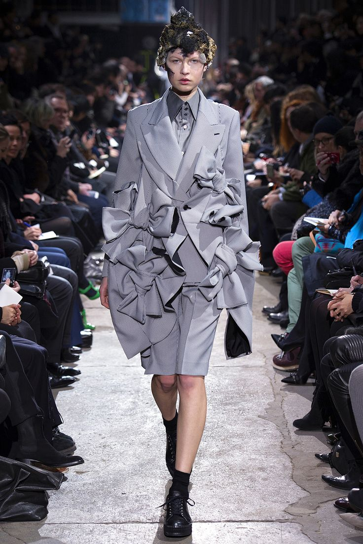 """Comme des Garçons, """"Infinity of Tailoring"""" 