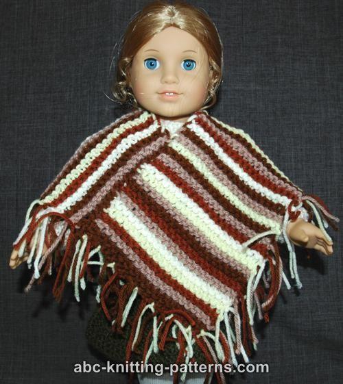 Knitting Pattern Doll Poncho : 1000+ ideas about Poncho Knitting Patterns on Pinterest ...