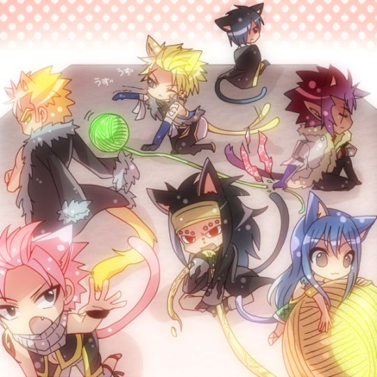 Fairy Tail Obsessed---> All the Dragonslayers!