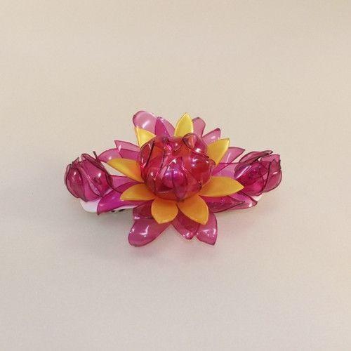 Francouzská spona malá - 3 květy
