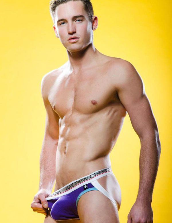 Model Of The Week Cory Lee Andrew Christian Models And Underwear