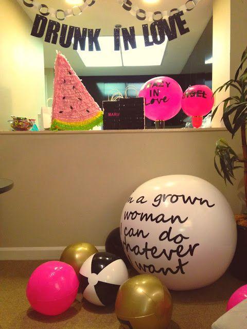 Beyonce themed bachelorette party   via DIT&O