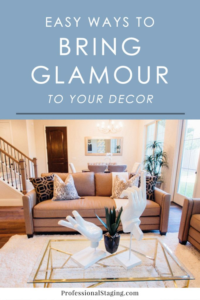 Love the look of modern glamour decor? Try these easy decorating tips to infuse…