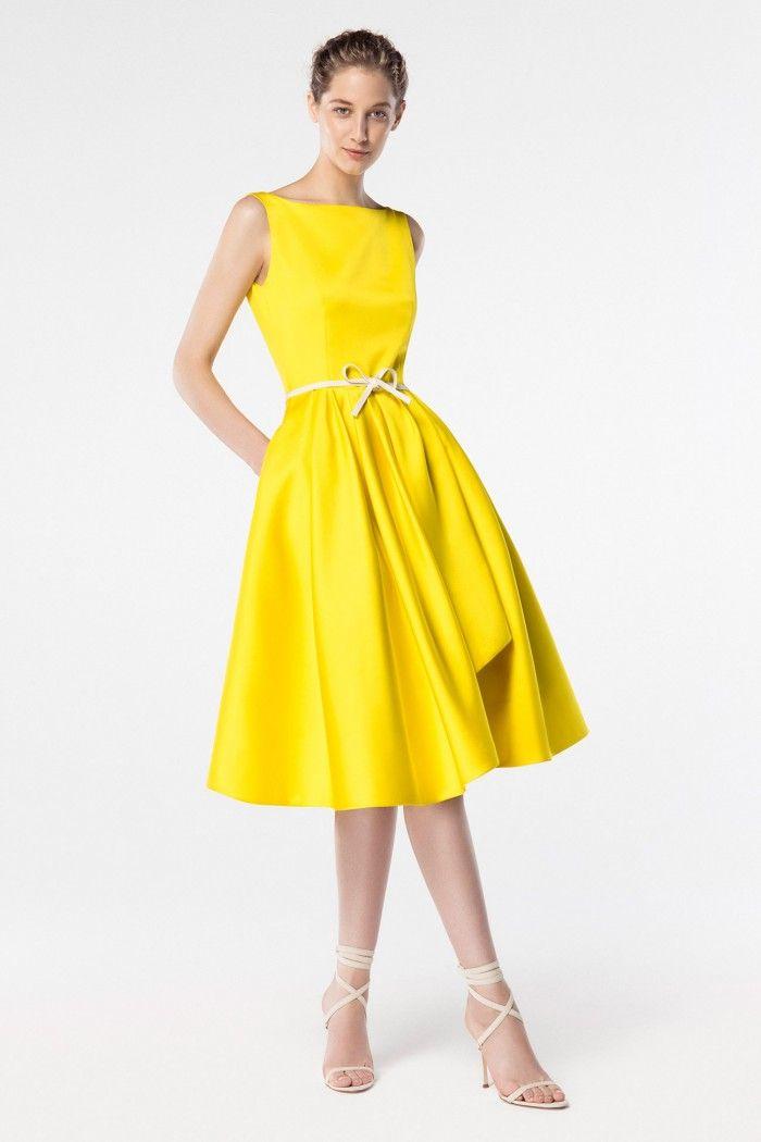 Casual Yellow Dress