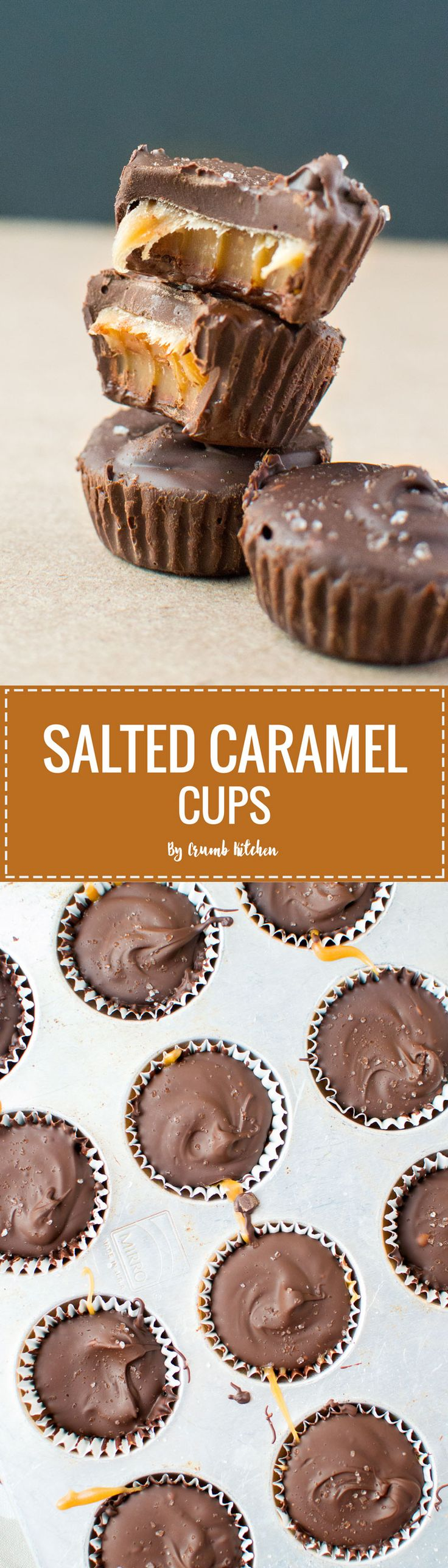 basketball uk Rich  chewy homemade salted caramel fills these creamy chocolate coated Salted Caramel Cups    crumbkitchen com