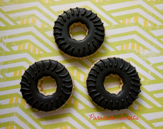Tire Sugar Cookies - 1 Dozen