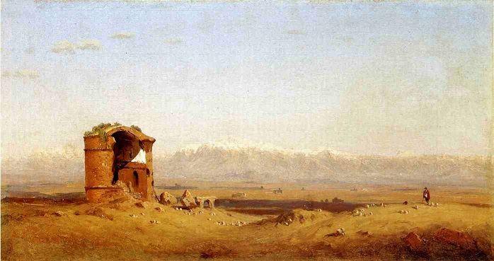 Foto storiche di Roma - Tor de' Schiavi Anno: 1857