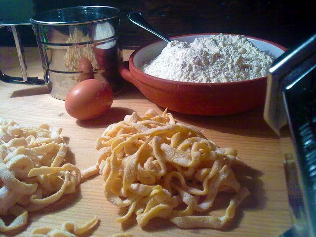 Ricette e Segreti in Cucina : Fettuccine alla ruspantina