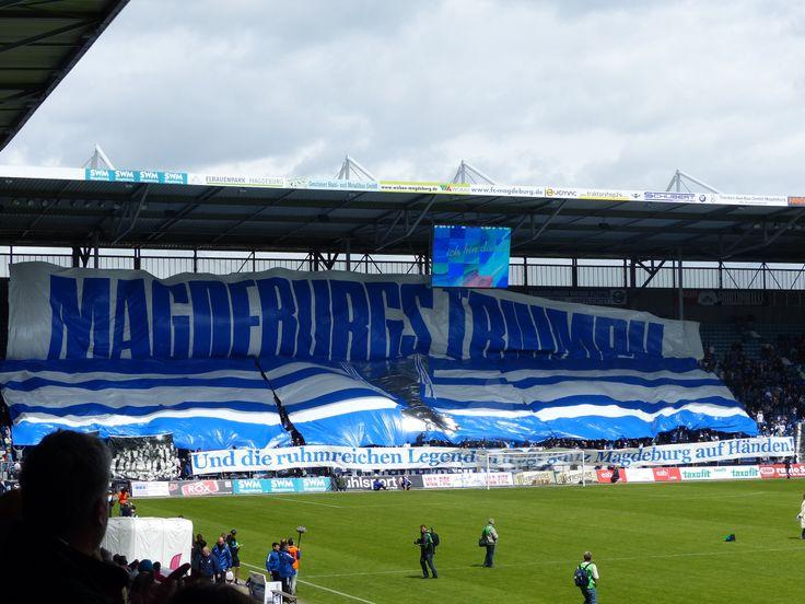 1. FC Magdeburg everydaysecrets74.tumblr.com #Fußball #Magdeburg #Europapokal #Sieger #Helden