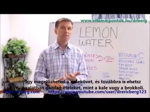 Dr. Berg: #1 számú ok, hogy miért igyál citromos vizet - YouTube