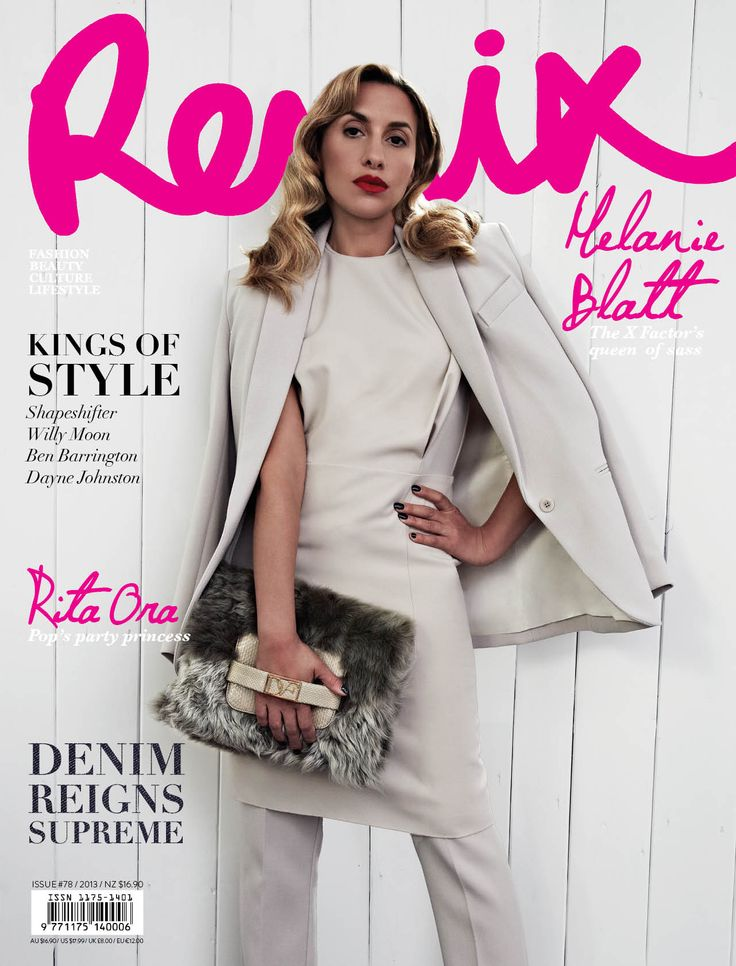 Melanie Blatt - Looking stunning on the cover of our Winter Issue (78). We managed to catch up with Mel and have a chat to talk about X Factor and her experience in the music industry!
