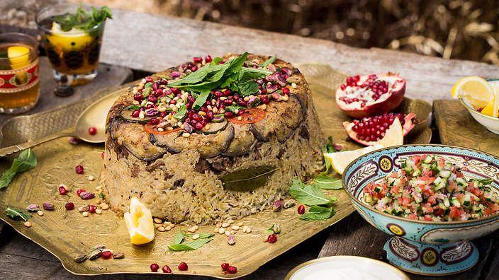 Tried - Fantastic - Ancient Grain Maqlouba. Rice, wild rice and quenoa