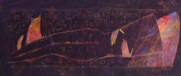KARAN art | Nefertiti | Contemporary art and painting in Florence
