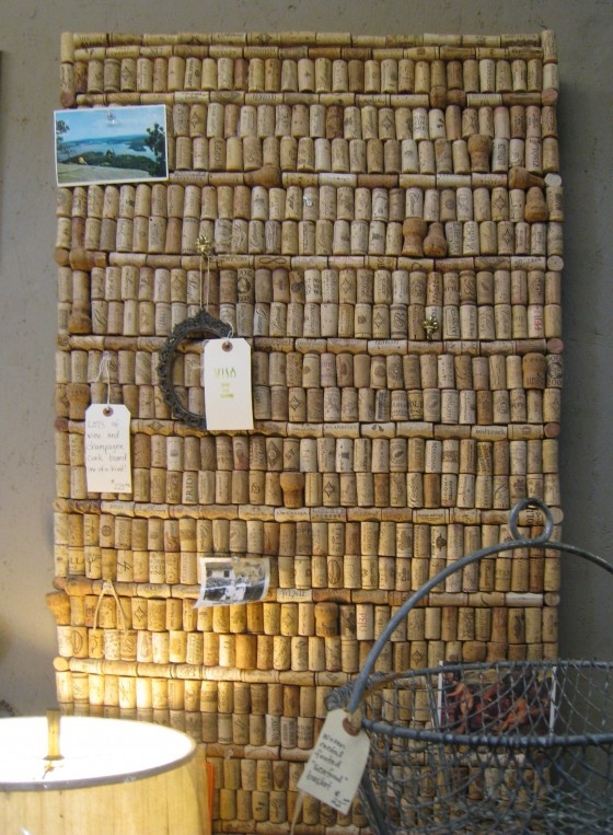 Cork board. I think this would look great in my office - but I wonder what my boss would think?
