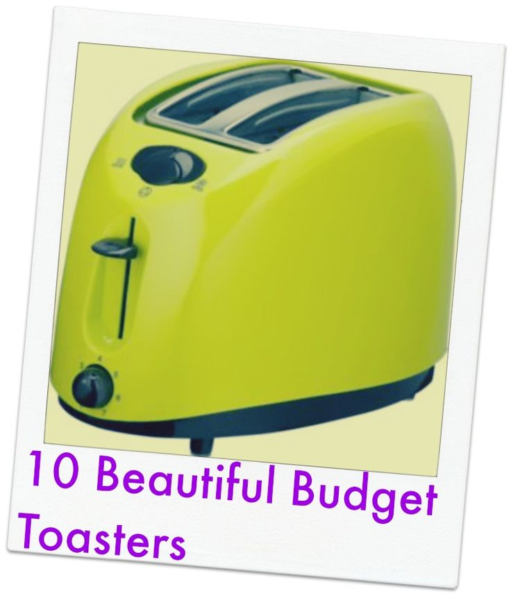 cheap toasters