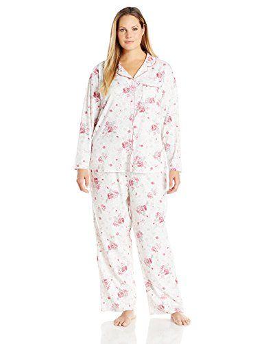 ... Pajama Pants Set. Karen Neuburger Women s Plus Size Long-Sleeve  Girlfriend . 37d826ca5
