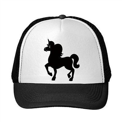 Small Unicorn Pets Adjustable Trucker Hat Cap