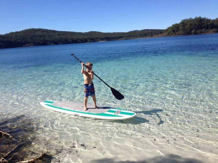 anyone can paddle board!! The fella is on a Drift Aqua 10'6