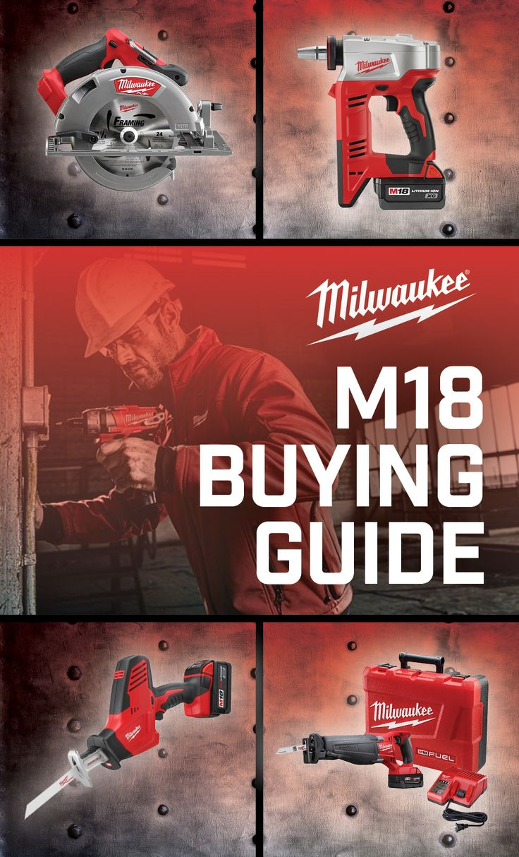 Milwaukee M18 tools are compact and rugged. Use this buying guide before making your next purchase.