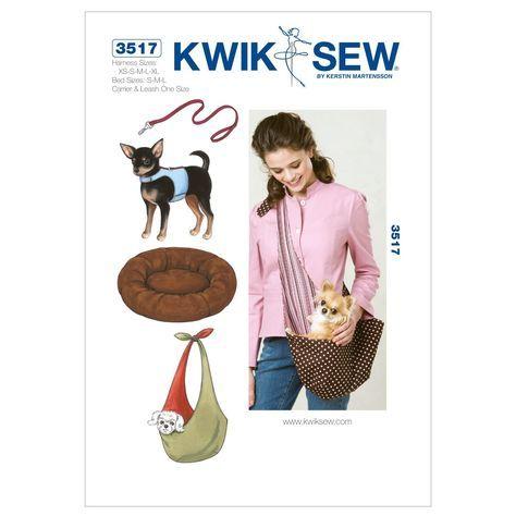 Kwik Sew Schnittmuster 3517 Hund XS-S-M-L-XL: Amazon.de: Küche & Haushalt