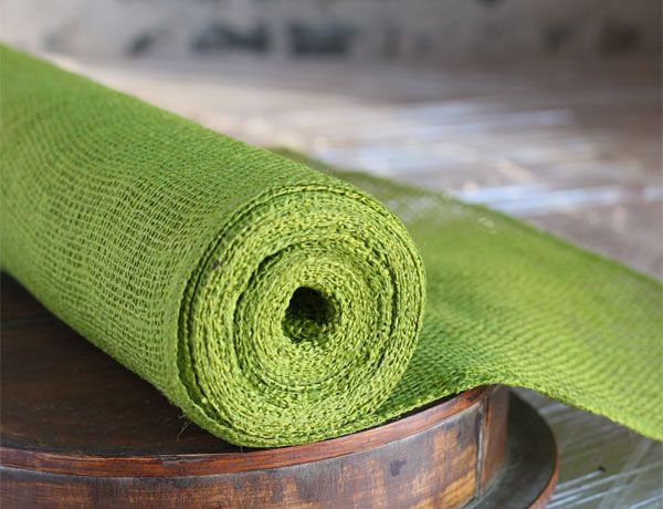 Check Out The Deal On Apple Green Burlap Table Runner Roll