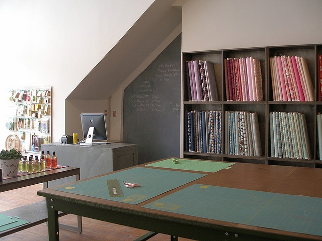 Modern store...the Workroom in Toronto  http://www.theworkroom.ca/  //very inspiring, great quality materials, classes, etc.