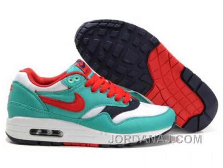 womens nike air max 87 sb green red