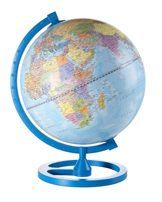 21 best zoffoli globes images on pinterest floor globe globes and color circle desk globe sky blue gumiabroncs Gallery