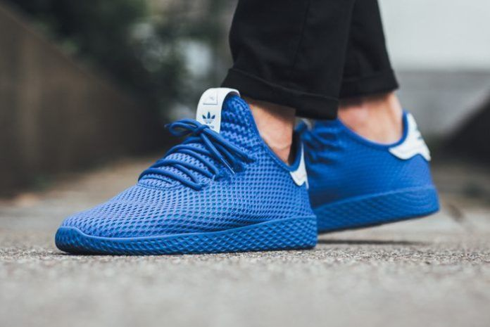 Adidas X Pharrell Williams Tennis Hu Blue Mens Shoes Cp9766 Size 9 13 Adidas Pharrell Williams Adidas Tennis Adidas Co