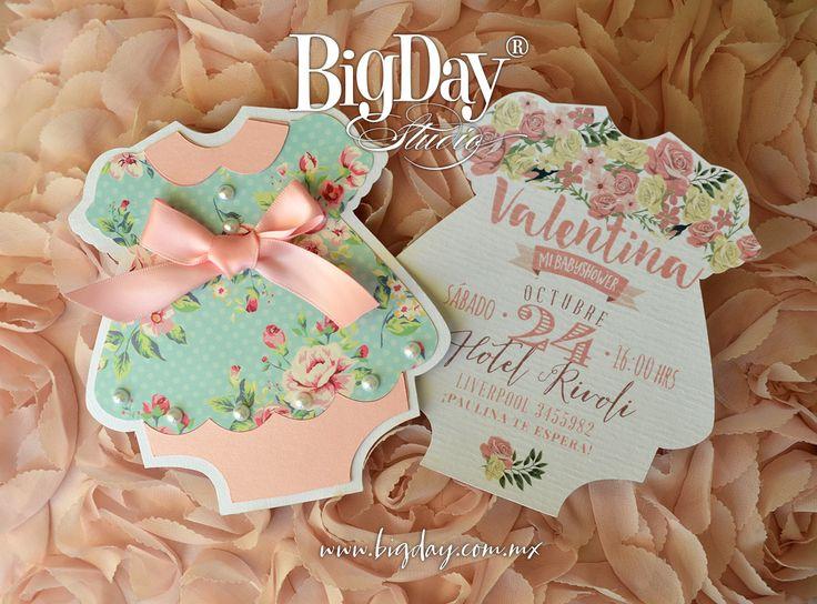 Valentina y su tierna llegada! / Invitación de Baby Shower
