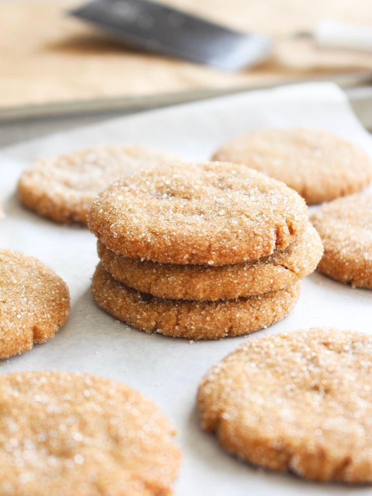 Cookies veganos de gengibre