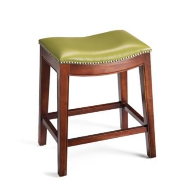 Julien Leather Bar Stool 149 24 Quot Tall Like The Citrine