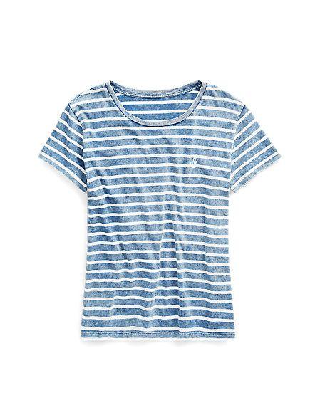 4ba160564706 Striped Crewneck T-Shirt - Short-Sleeve Tees   Tops - Ralph Lauren France