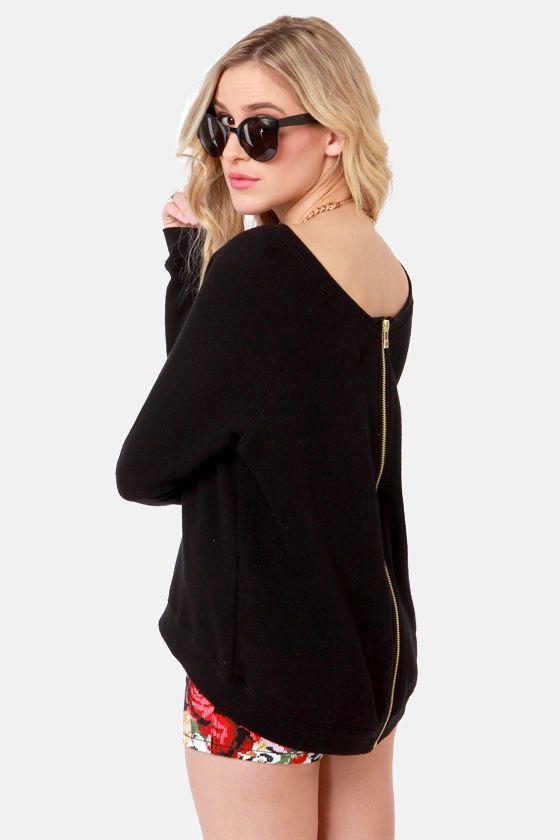 Back Zipper Sweater 31