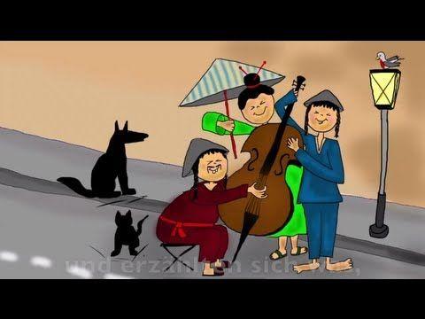 Kinderlieder deutsch - 3 Chinesen mit dem Kontrabass - YouTube