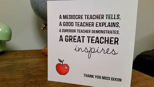 10 wonderfully Unique Teacher Gifts for the End of Term
